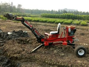 ATV Towable Backhoe