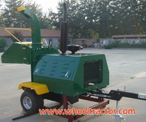 40HP Wood chipper