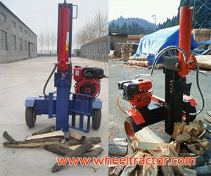 Gasoline Engine Log Splitter