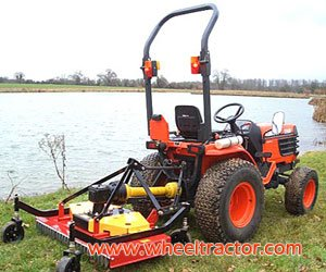 Sickle Bar Mowers for Small Tractors with Small Rake