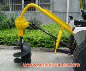 3 Point Hitch Post Hole Digger