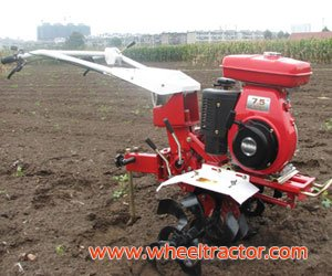 Gas Power Tiller