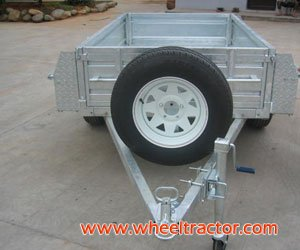 Galvanized Box Trailer