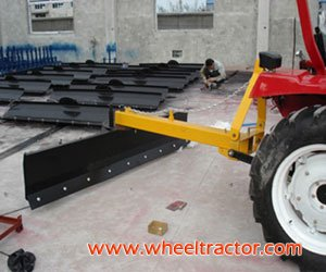 Rear 3 Point Hitch Scrape Blades