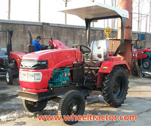 Farm Tractor with 1 cylinder Engine