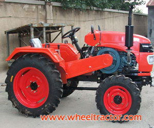 24HP 4wd One Cylinder Four Wheel Tractor