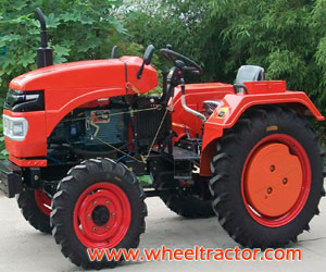 26HP 4wd One Cylinder Four Wheel Tractor