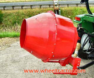 3 Point Hitch Mounted Cement Mixer