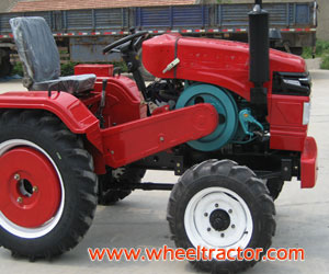 30HP 4wd One Cylinder Four Wheel Tractor