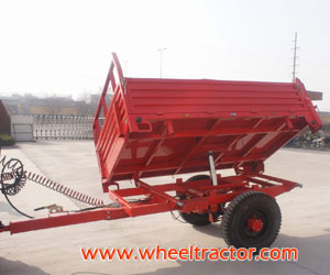 Self-discharging Trailer