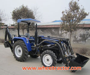 Tractor with Loader,Backhoe