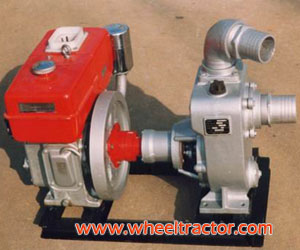 Water Pump With Engine