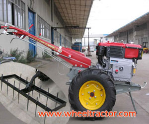 Harrow For Walking Tractor