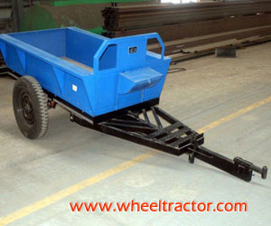 1 Ton Trailer For Walking Tractor