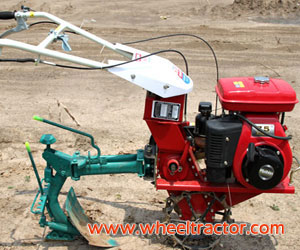 Garden Tiller with Plough