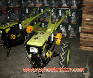 Green Color Walking Tractor