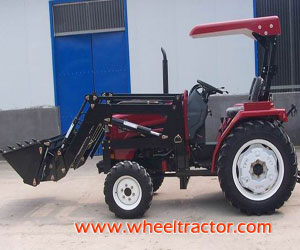 Tractor, Engine with EPA