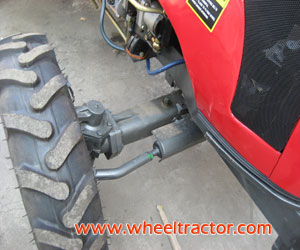 Tractor with Hydraulic Steering