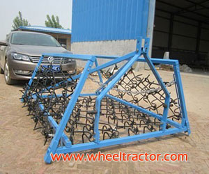 3 Point Mounted Grass Harrows
