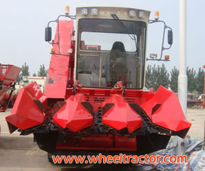 Corn Grain Harvester