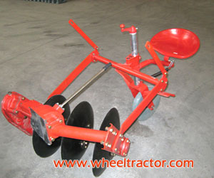 Drive Disk Plough For Walking Tractor