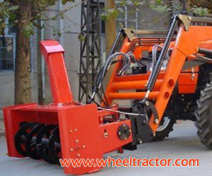 Front Hydraulic Snow Blower