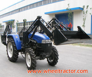 Luzhong Tractor 404 with lo