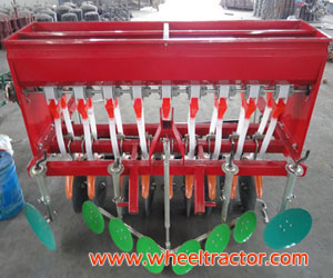 Seeder with fertilization