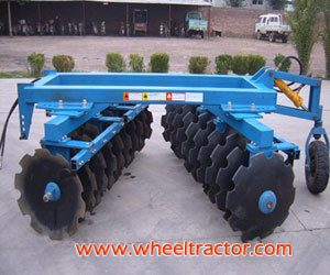 Semi-Mounted Heavy Disc Harrow