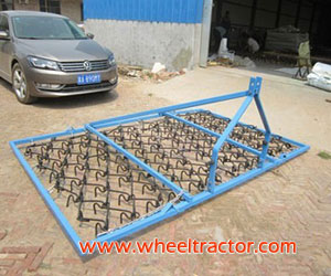 Tractor Grass Harrow