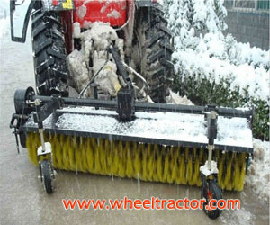Tractor Snow Sweeper