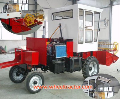 Self-powered square hay baler