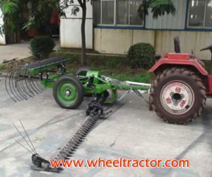 Sickle Bar Mowers with small rake