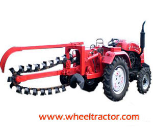 Tractor Trencher Ditcher
