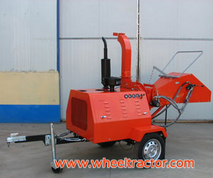 Diesel Wood Chipper Shredder