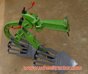 Walking Tractor Double-furrow Plough