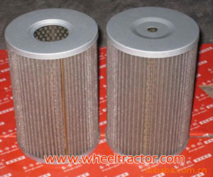 Hydraulic steering filter elements