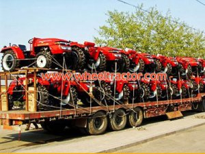 Shipment of Tractors to Mongolia