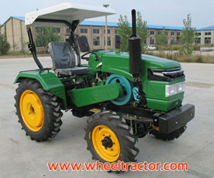 Belt Tractor with Canopy, Sun Shade