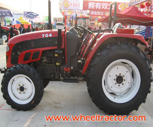 70HP Tractor 4WD